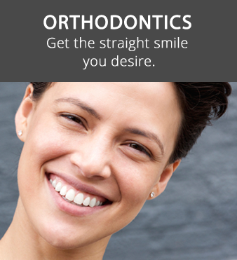Orthodontics dentistry at Hunsaker Dental man smiling with straight teeth in Salem, OR