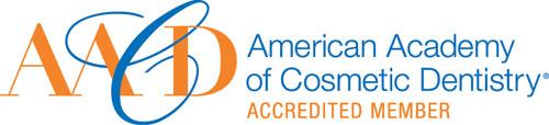 America Academy of Cosmetic Dentistry Logo Dentist Salem Oregon