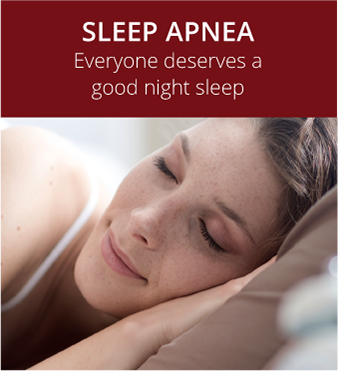 Sleep Apnea assistance at Hunsaker Dental woman smiling Salem, OR while sleeping in